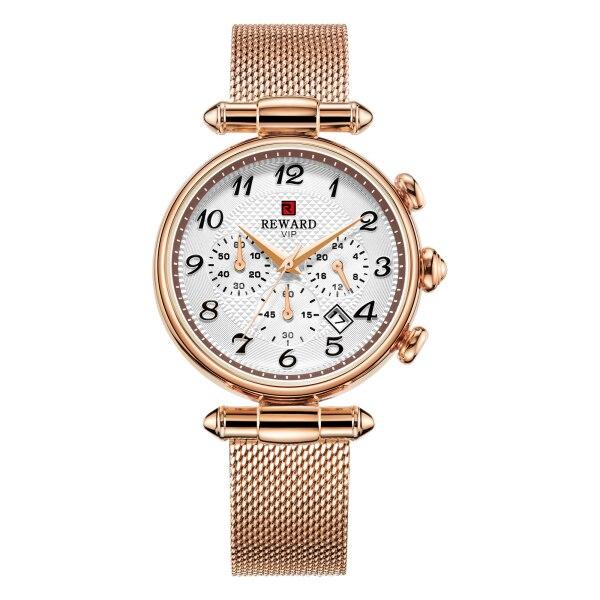 REWARD Fashion Women Watches Luxury Brand Chronograph Sport Women's Watches Japan Movement Date Ladies Watch Clock Reloj Mujer | Fotoflaco.net