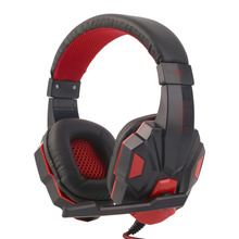 Buy SY830MV Gaming Headphone 3.5mm Surround Stereo Headset Headband Headphone with Mic for PC Laptop Low Bass Wired Headset