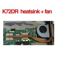 Asus K72D K72DR K72DY K72DE X72D A72D soğutucu & fan CPU Soğutma fanı