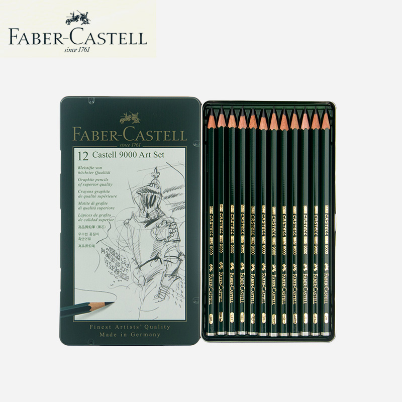 Faber Castell Pen Colored Pencils for Drawing Creative School Supplies 12 Colored Pencils Lovely Stationery Birthday Present faber castell 30 colors cute creative colorful crayons connector watercolor gel pen for drawing art stationery supplies