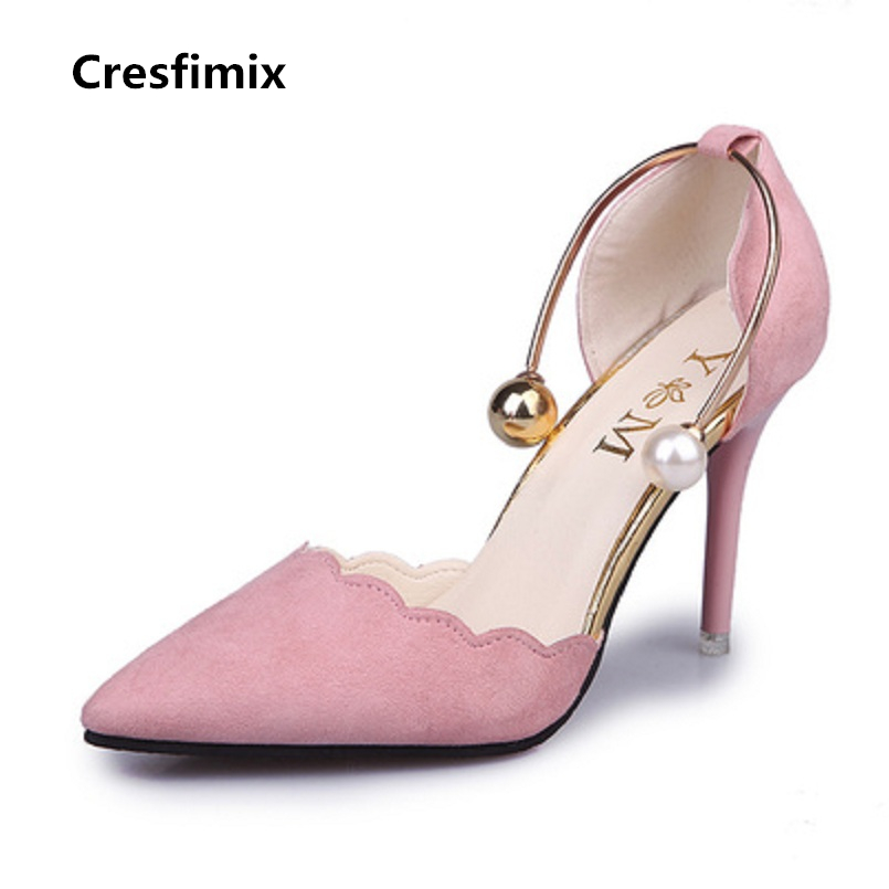 Cresfimix women fashion new comfortable slip on high heel shoes lady cute & sexy red wedding 7cm high heels talons hauts b887Cresfimix women fashion new comfortable slip on high heel shoes lady cute & sexy red wedding 7cm high heels talons hauts b887