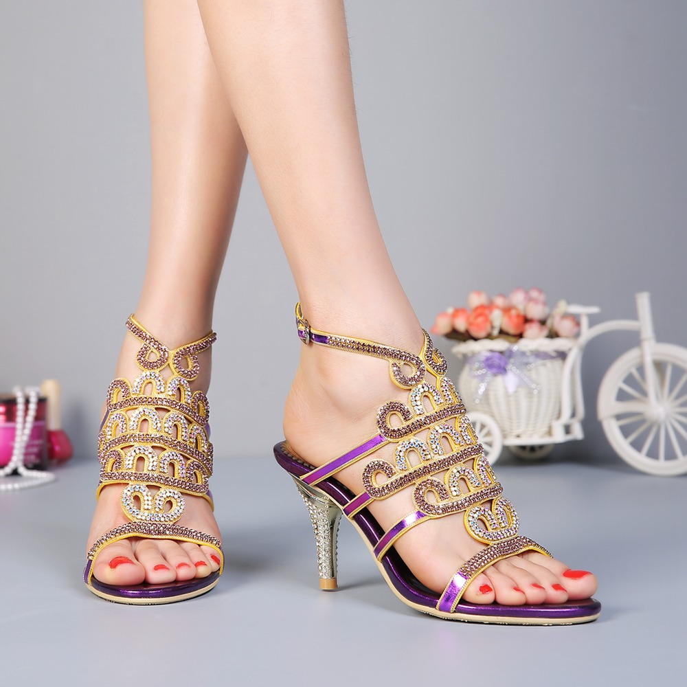 High heel sandals, fine and water drill women's shoes, European spring and summer new show thin women high heel the new spring and summer ms south korea ensure their boots comfortable show female water thin antiskid tall canister shoe
