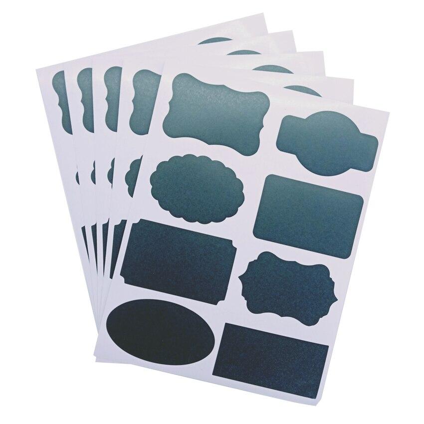 10 pacote lote blackboard adesivo bolo adesivos 01