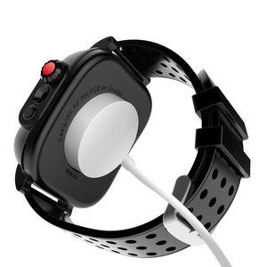 Image 5 - アップル iwatch シリーズ 3 42 ミリメートル IP68 防水バンパー pc 時計ケースとゴムバンド iwatch シリーズ用 4 44 ミリメートル 40 ミリメートル