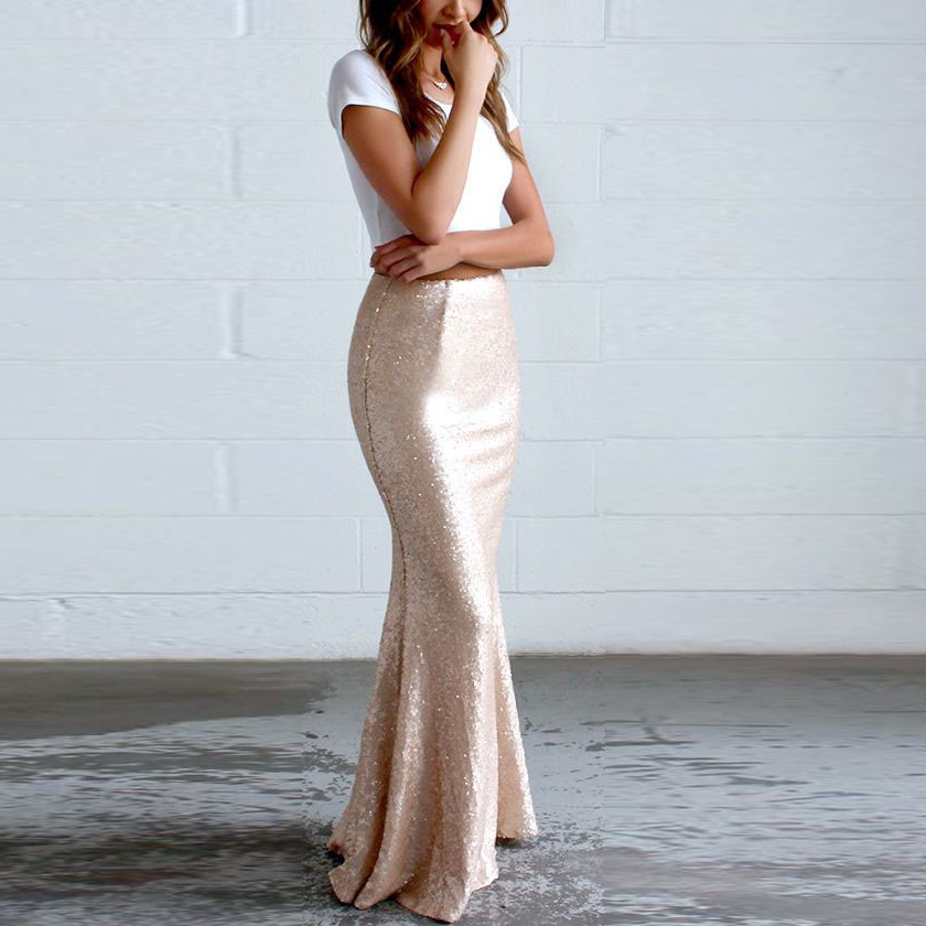 Sequin Mermaid Skirt