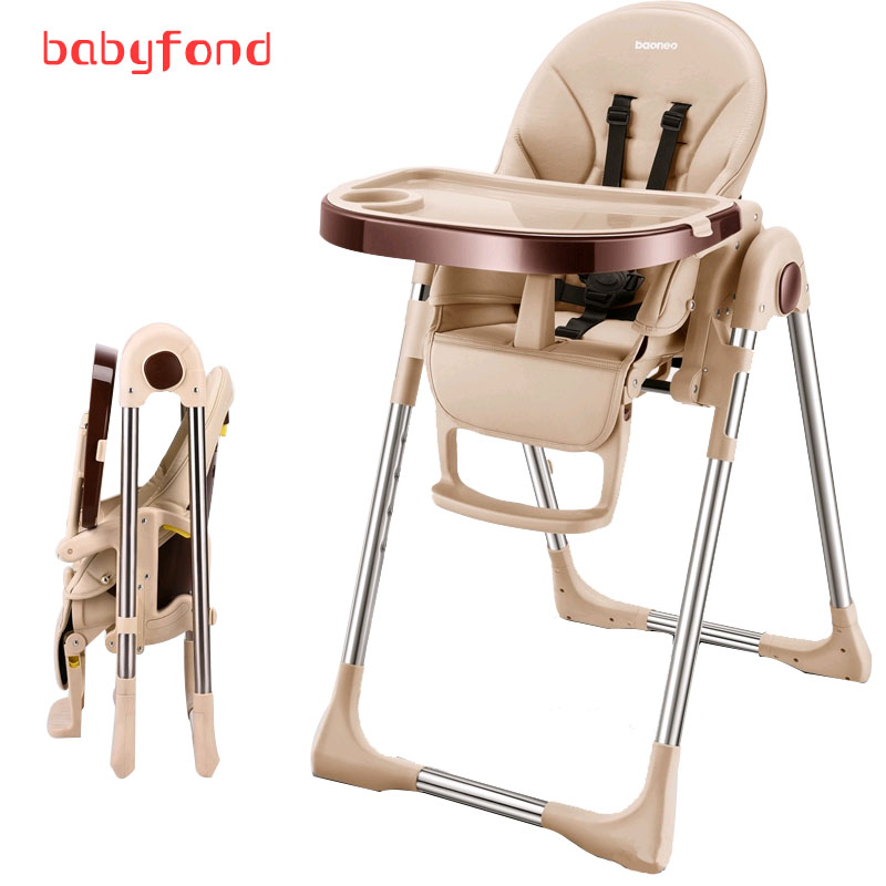 Baoneo Baby Highchairs Multi-functional Portable Folding Table Chair Authentic Portable Baby Seat Baby Dinner Table