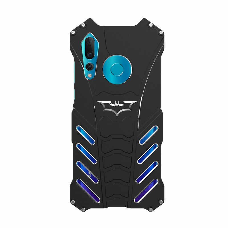 R-JUST чехол для телефона huawei nova 4 металлический алюминиевый ударопрочный, брызгозащищённый защитный чехол для nova 4 Броня противоударный чехол