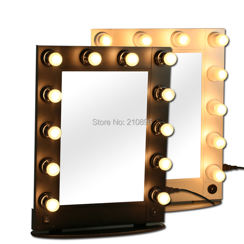 professional vanity mirror with lights. Free Shipping To Brazil Professional Lighted Makeup Mirrors Hollywood Style Mirror  Case Light Bulbs In Cosmetic Bags Cases From Luggage On