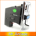 Multi coin selector acceptor for 5 different coins, support multi signal output 1 signal, arcade game machine part