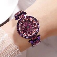 Hot Sale Fashion Diamond Watches Women Rose Gold Watch Women Quartz Womens Watches Top Brand Luxury 2018 Reloj Mujer Wrist watch hot sale top luxury gold watch fashion long leather bracelet watch women watches ladies bangle quartz watch hour reloj mujer