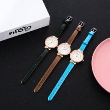 2019 HOT Fashion Women Diamond Analog Leather Quartz Wrist Watch Saat Watches Womens Watches Top Brand Luxury цены онлайн