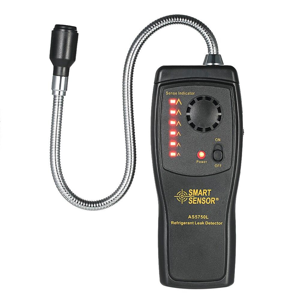 SENSOR INTELIGENTE Analisador De Gases Cfc Hcfc Hfc Halogênio Refrigerante Detector De Ar Ar Condicionado Detector de Gás Freon Leak Tester