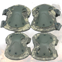Tactical Knee pad ACU CP Khaki Black Military Airsoft Sport Paintball Knee & Elbow Protective Pads