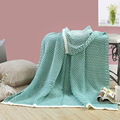 2017 Sale New Swaddle Blankets Newborn High Quality Knitted Children's Air Conditioning Blanket Sofa Throw Knitting 130*170cm