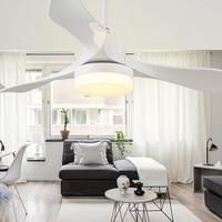 24 Вт модный вентилятор светодиодный энергосберегающий потолочный с дистанционным управлением Свет Вентилятор семейный Декор Гостиная тре