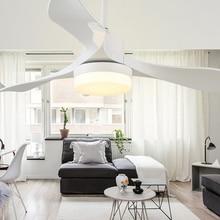 Ventilador de moda de 24W, lámpara LED de ahorro de energía con Control remoto, ventilador de luz de techo, decoración familiar, lámpara de techo Tricolor para sala de estar