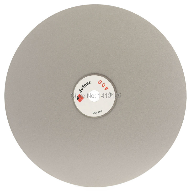 8 inch Grit 400 Diamond Abrasive Wheel Grinding Disc Coated Flat Lap Disk Lapidary Tools for Stone Jewelry Glass Gemstone 18 inch 450mm grit 60 coarse diamond grinding disc abrasive wheels coated flat lap disk jewelry tools for stone glass gemstone