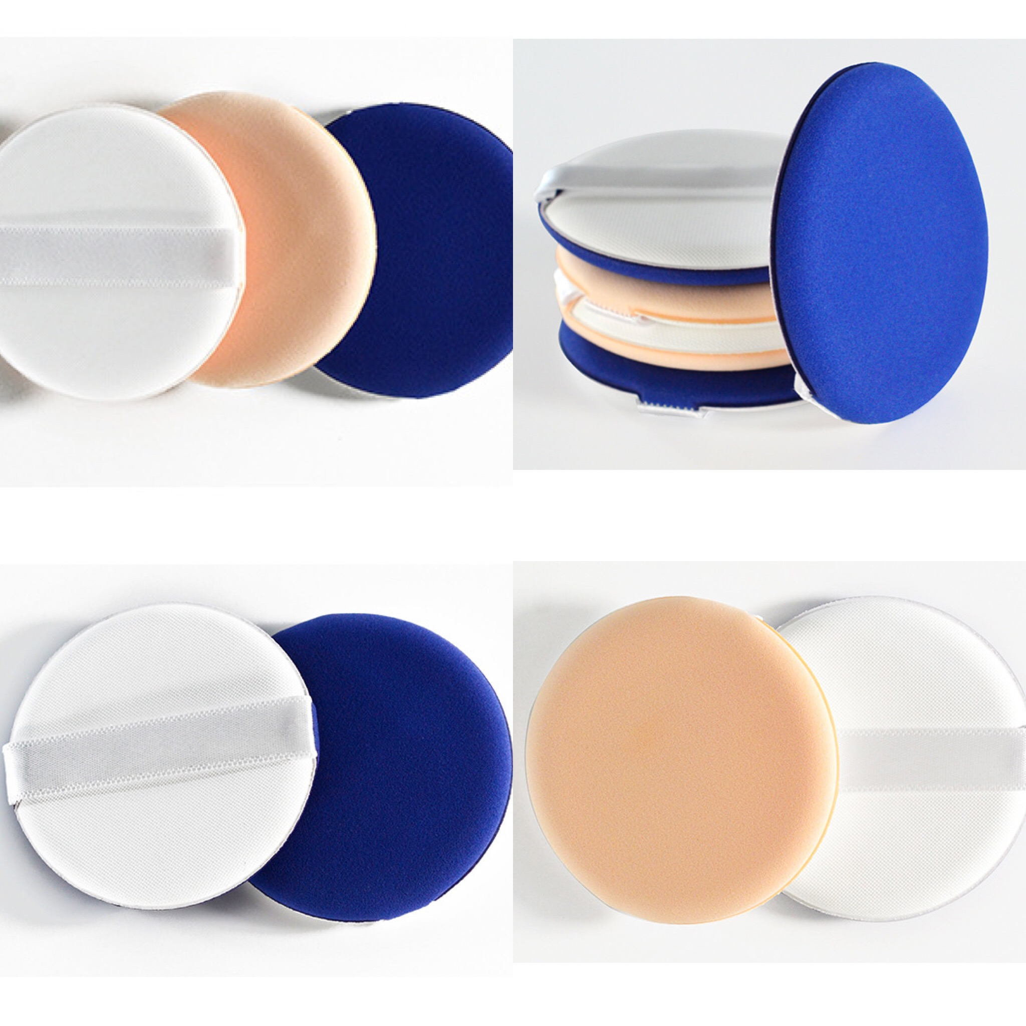 Us 0 54 7 Off Flawless Smooth Facial Powder Puff Cosmetic Soft Sponge Korean Beauty Style Air Cushion Puff Makeup Foundation Bb Cream In Cosmetic