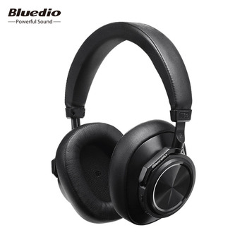 Bluedio T6S Bluetooth Casque Active Noise Sans Fil Casque pour téléphones et musique avec commande vocale