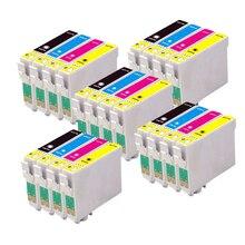 20 Compatible EPSON T1285 T1281-T1284 Ink cartridge for stylus SX420W SX-420W SX 420W Printer