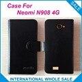 Caliente! 2016 Neomi N908 4 G caja, 6 colores de la alta calidad cuero Exclusive cubre para Neomi N908 4 G número de seguimiento