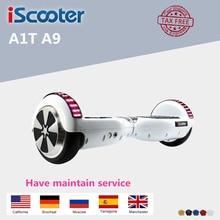 6.5 pulgadas Hoverboard Monopatín Eléctrico Auto Equilibrio Scooter con Led Altavoz UL2272 hover bordo Electrice Vespa Mejor Regalo