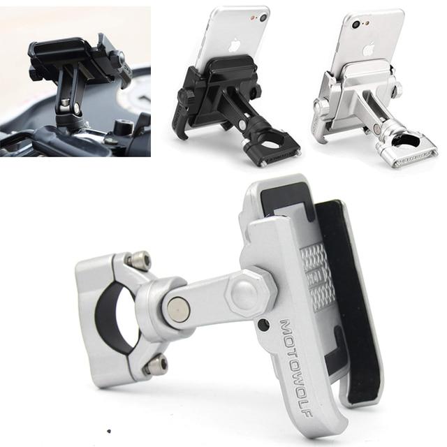עבור BMW r1200gs lc R1200 GS R 1200GS R תשע T 13-17 R NINET אוניברסלי נייד טלפון בעל אופנוע אופניים Stand Rotatable