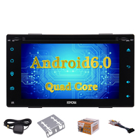 Android 6 0 Car Radio Touchscreen Bluetooth GPS Navi For Universal Double Din Autoradio Radio 4G
