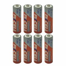 8pcs 2500mWh 1.6V PKCELL Ni-Zn AA Rechargeable Battery for Toys,Digital camera, MP4 Drop Shipping(China)