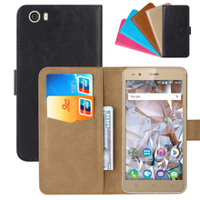 Luxury Wallet Case For BQ BQ-5054 Crystal PU Leather Retro Flip Cover Magnetic Fashion Cases Strap