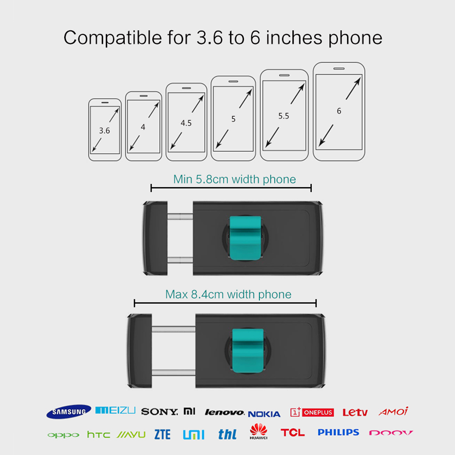 USAMS Універсальний автомобільний - Аксесуари та запчастини для мобільних телефонів - фото 2