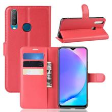 For Oppo Realme 3 Case OPPO Reno 10X Zoom Wallet Flip Business Stand L