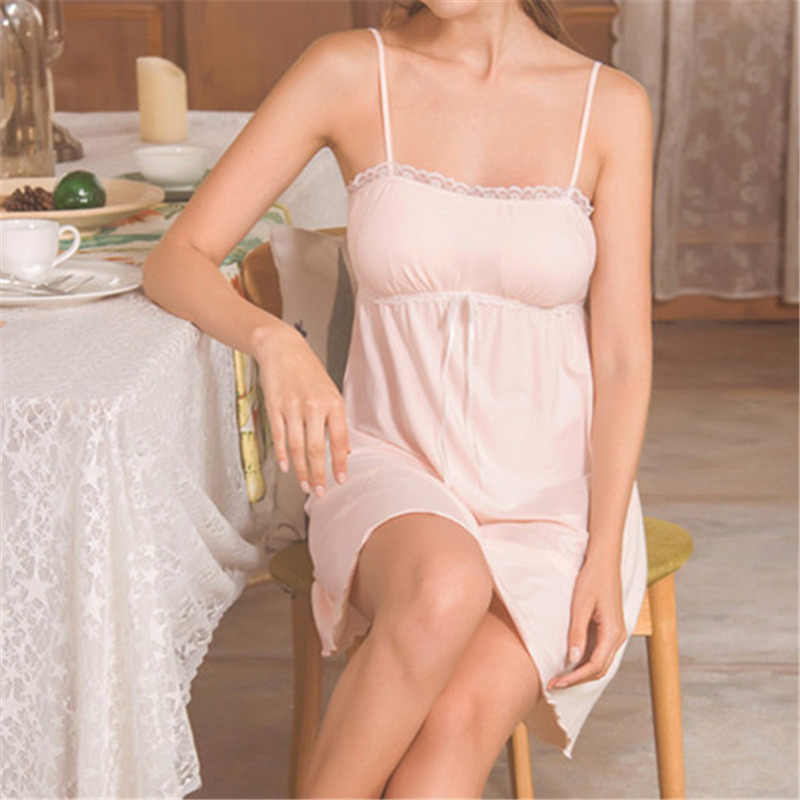 be362b031b7 ... Women Sexy Underwear Lace Nightgown Cotton Nightdress Baby Doll Mini  Dress Plus Size Sexy Lingerie Sleepwear ...
