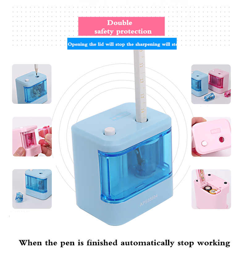2017 Affordable Electric Pencil Sharpener Automatic Desktop School Stationery Office M&G APS95604