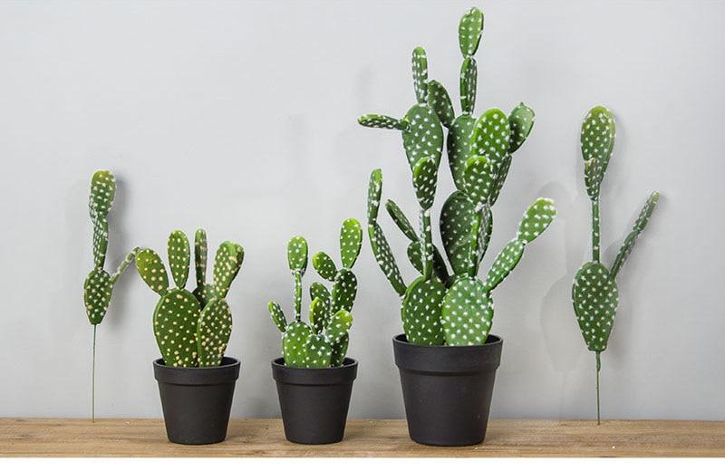 4e8ae59e2 1 pieza unids Artificial planta Tropical Cactus simulación plantas ...