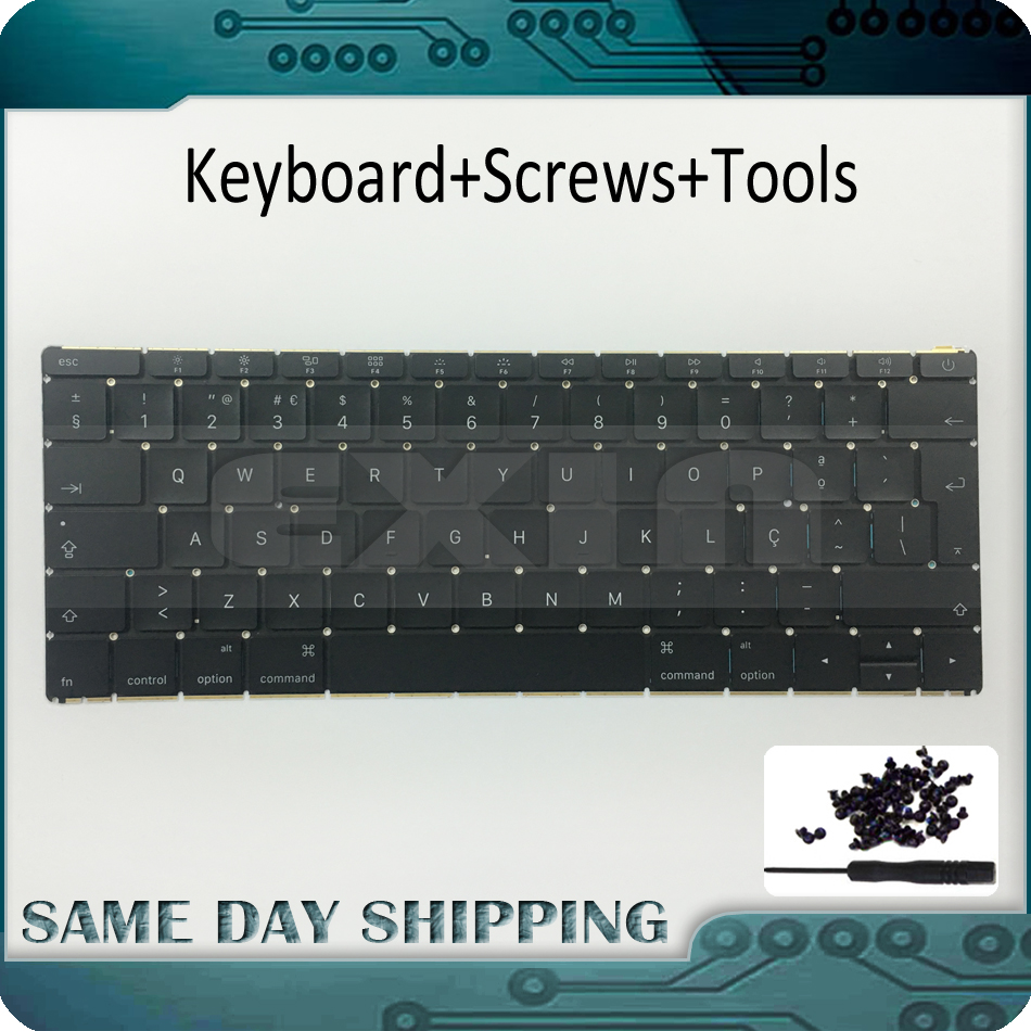 Early 2015 Original NEW for MacBook Retina 12 A1534 Portuguese PT Keyboard w/ Backlight Backlit Replacement MF855 MF865 EMC2746 original replacement bare bulb panasonic et lal500 for pt lb280 pt tx400 pt lw330 pt lw280 pt lb360 pt lb330 pt lb300 projectors