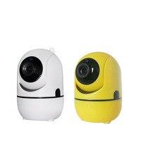 MINIHS New Baby Monitor with Camera 1080P Mini Baby Monitor Wifi Wireless Camera Million High definition Webcam