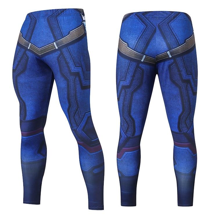 2019 Compression Pants Running Tights Men Training Pants Fitness Streetwear Leggings Men Gym Jogging Trousers Sportswear Pants 27
