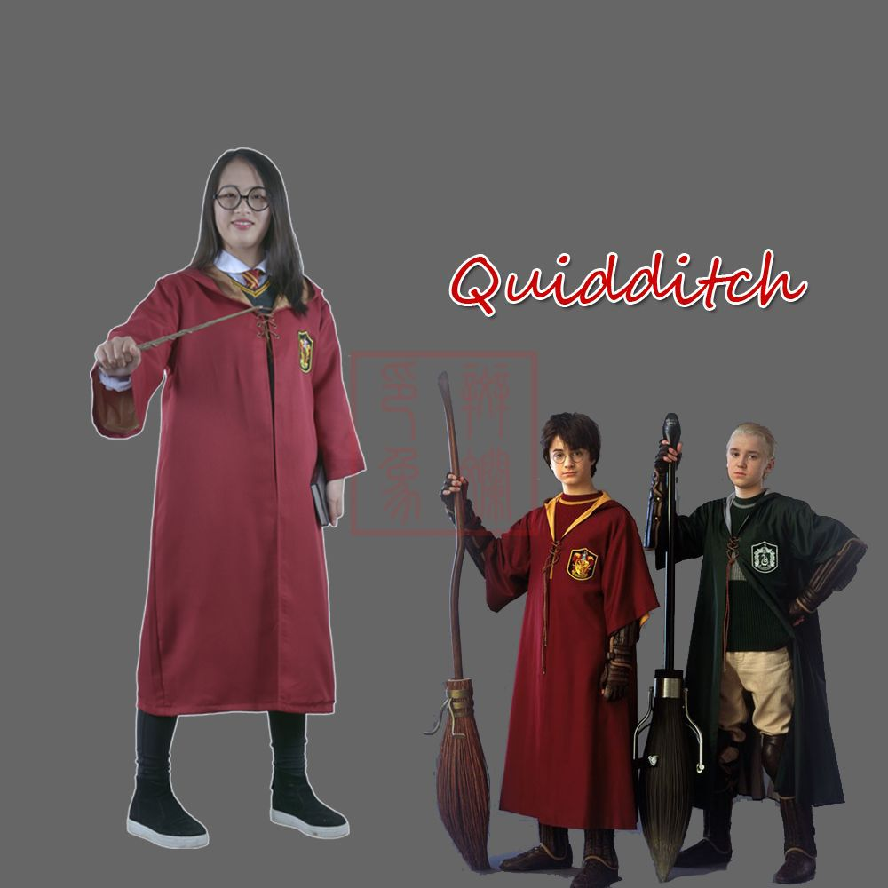 Harry Potter Outfits Hogwarts Uniform Cloak College Cosplay Clothes Magic Robe Halloween Costume For Adults Cosplay Harry Potter