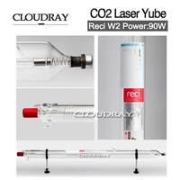Cloudray 40W Reci Laser Tube Pipe W2 1200mm Dia 80mm For Cutting Laser CO2 Laser Engraving Cutting Machine Mechanical Parts