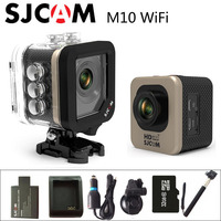 Original SJCAM M10 WIFI Sport Action Camera HD 1080P Waterproof Car Charger Holder Extra 1pcs Battery