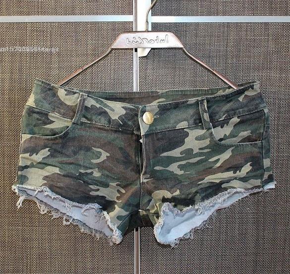 HTB1BgS RXXXXXa5aXXXq6xXFXXXP - Women's Camouflage Jeans Shorts Hot Denim PTC 137