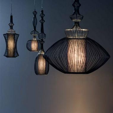 European Elite Spa Droplights Big Noble Pendant Lights Fixture Coffee Bar Restaurant Dining Room Clubs Home Indoor Pendant Lamps цена 2017
