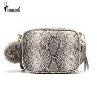 f0d403e74 FUNMARDI New Women Messenger Bags Snake Skin Designer Shoulder Bag For  Women PU Leather Crossbody Bags. FUNMARDI Sacos Novos Mulheres Mensageiro Designer  de ...