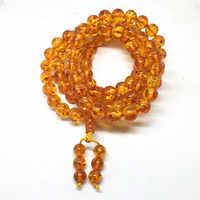 Alta qualidade único 6mm/8mm/10mm buddism 108 contas mala pedra oração grânulos tasbih allah oração rosário