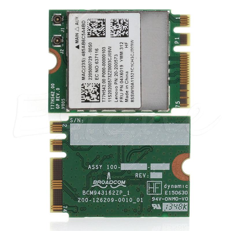 Bluetooth 4.0 Wireless 2.4G+5G Dual-band WIFI Card For Lenovo G50-30 45 70 70M Z50-70-75 C26