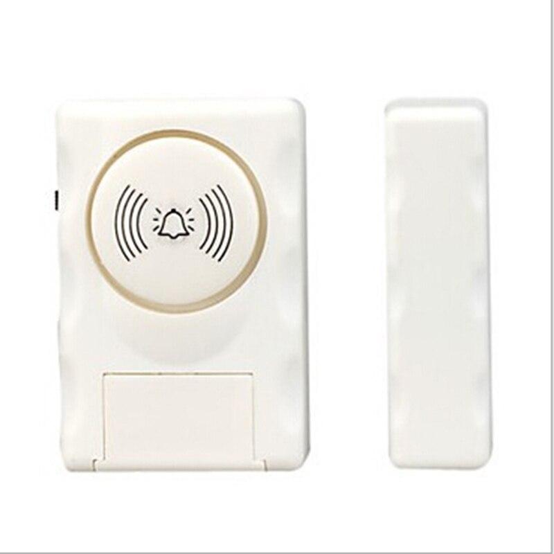 Xinsilu Wireless Home Security Window Door Alarm warning System Magnetic Door Sensor/Detector security system alarm protection warning sticker