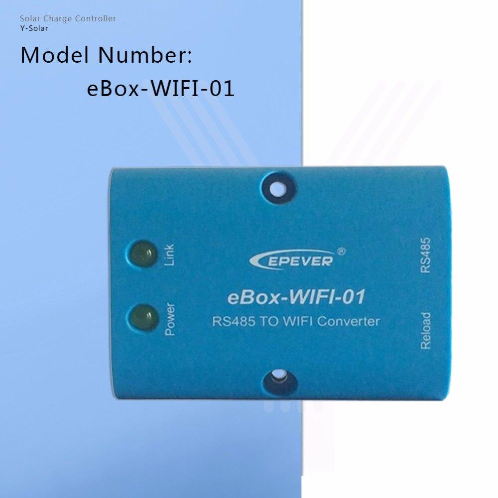 EPSOLAR EBOX-WIFI-01 WIFI Boîte Mobile Téléphone APP utiliser pour EP Traceur de charge Solaire Contrôleur Communication EPEVER