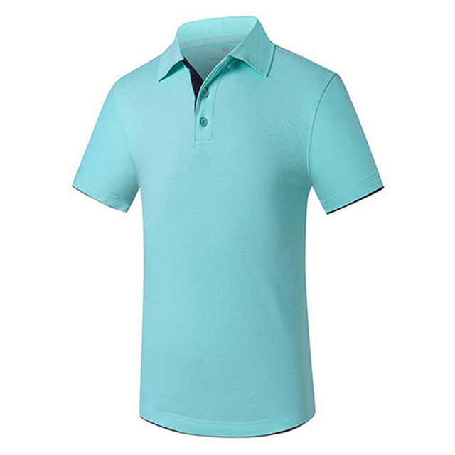 Men's Polo Shirt Casual Fashion Men Tops Tee Turndown Collar Short Sleeve Slim Fit Top Shirts Camisetas