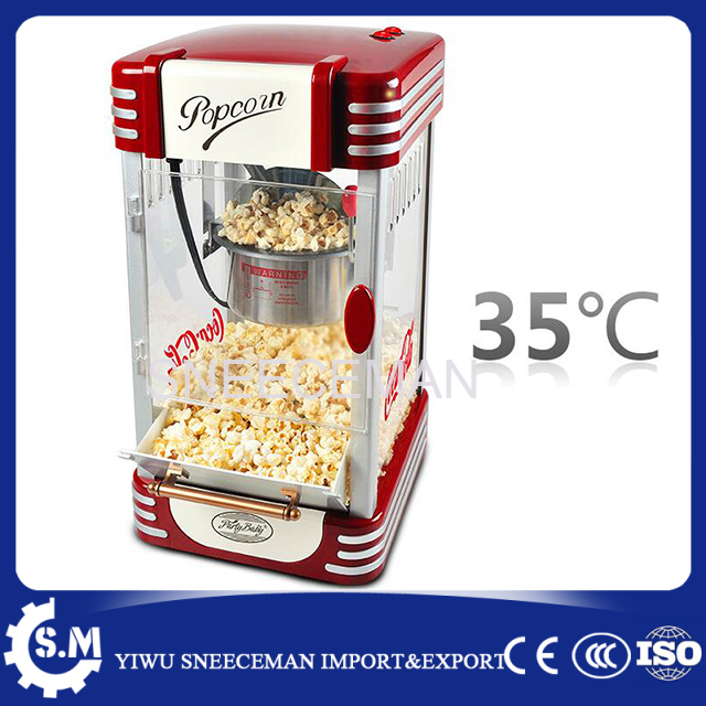 automatic electric popcorn machine 3mins household child use mini popcorn making maker machine pop 08 commercial electric popcorn machine popcorn maker for coffee shop popcorn making machine